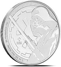 2018 NU 1 oz Niue Silver $2 Star Wars: Darth Vader Lightsaber Dollar Uncirculated