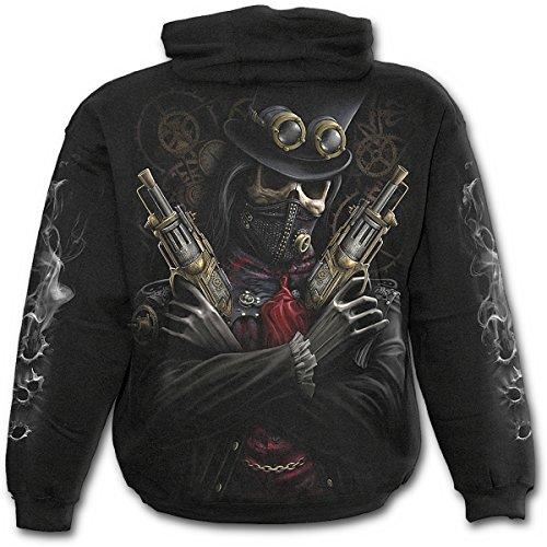 Spiral Direct - Sweat-shirt à capuche - Homme - Noir - Noir - Large