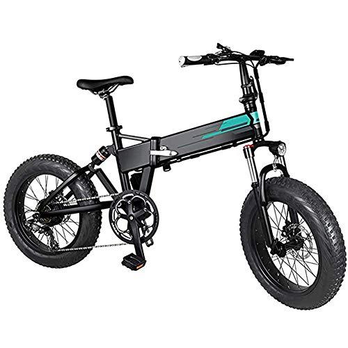 Art Jian Bicicleta eléctrica Plegable, 250W 2.5Ah batería de Gran Capacidad para...