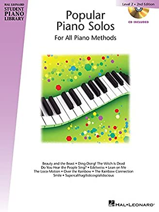 Popular Piano Solos - Level 2: Hal Leonard Student Piano Library Book with Enchanced CD by Phillip Keveren (2014-07-01)