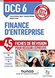 DCG 6 Finance d'entreprise - Réforme Expertise comptable 2019-2020