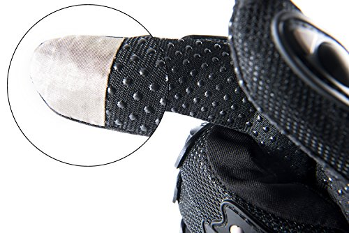 Motorradhandschuhe Pursuit Moto L schwarz kurz Sommer Touchscreen für Herren und Damen Motocross Handschuhe Fahrrad MTB Roller Sport Mofa - 2