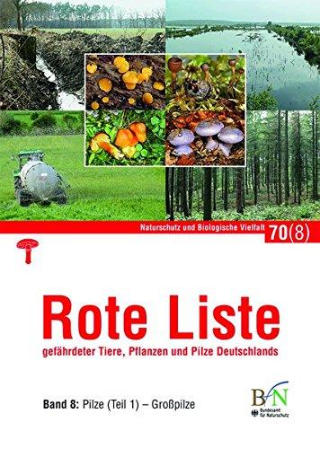 Rote Liste gefährdeter Tiere, Pflanzen und Pilze Deutschlands - Bd 8: Pilze (Teil 1)-Großpilze