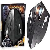 WXHJM Capitán América Escudo Cosplay Película Rendimiento Accesorios Puntales Avenger Infinity War Superhéroe Wakanda Arm Shield