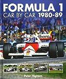Formula 1 Car by Car 1980 - 1989 (Formula 1 Cbc) - Peter Higham