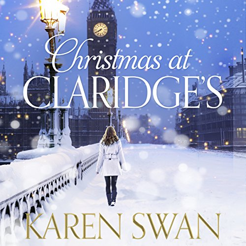 Christmas at Claridge's audiobook cover art