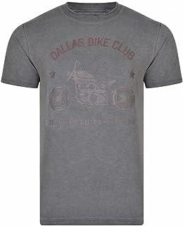 Badrhino Mens Big and Tall Kam Graphic T-Shirt