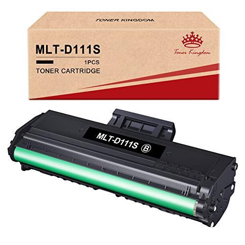 Toner Kingdom Compatibile Cartuccia Toner Sostituzione per Samsung MLT-D111S 111S per Samsung Xpress M2026W M2026 M2070 M2070W M2070FW M2020 M2020W M2022 M2022W (1 Pezzo)