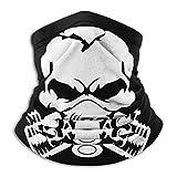 XXWKer Microfibre Chapeaux Tube Masque Visage Tour de Cou Cagoule, Claw Marks 392 Piston Gas Skull Unisex Fleece Neck Warmer Ear Warmer Headband & Face Cold Weather Gear One Size