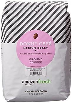 AmazonFresh Donut Cafe Ground Coffee Medium Roast 32 Ounce  Pack of 1