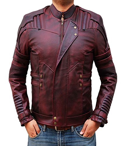 LeatherHill -  Giacca - Uomo rosso XL