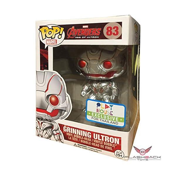 Funko Pop Ultron sonriendo (Los Vengadores – La Era de Ultron 83) Funko Pop