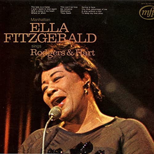 Ella Fitzgerald - Ella Fitzgerald Sings Rodgers & Hart - Music For Pleasure - MFP 5187