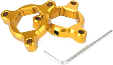 GZYF CNC Motorcycle Fork Preload Adjusters Fits HONDACRF1000LAfticaTwin/ABS/DCT2016-2018, Gold