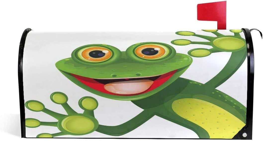 YAOAIAI Merry Green Frog Sale Special Price with Import Greater Eye Mail Magnetic in 21x18