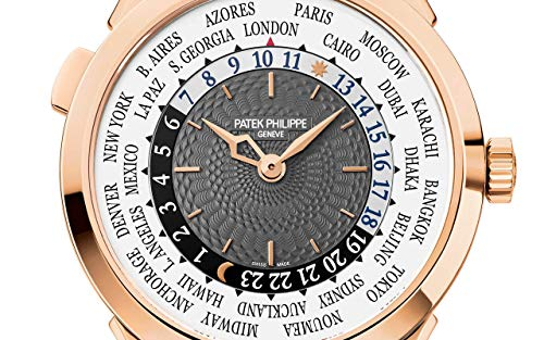 Patek Philippe Complications Rose Gold 5230R-012 with Charcoal Gray Lacquered dial