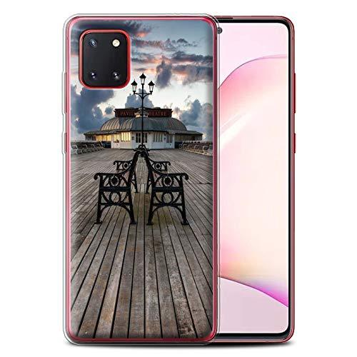 Stuff4 telefoonhoesje/Cover/Skin/SG-GC/Engelse collectie aan zee Samsung Galaxy Note 10 Lite 2020 Paviljoen-theater