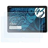 Bruni Schutzfolie kompatibel mit Huawei MediaPad M5 Lite 10 Folie, glasklare Bildschirmschutzfolie (2X)