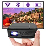 Best Pocket Projectors - Pocket Mini Portable Projector, Bluetooth Video WiFi DLP Review