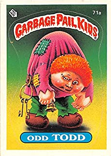 Odd Todd trading card Garbage Pail Kids 1985 Topps #71A Sticker