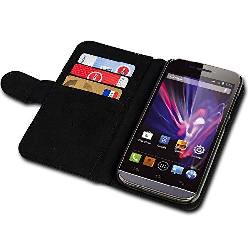 sw-mobile-shop Book Style Huawei Ascend Y330 Premium PU-Leder Tasche Flip Brieftasche Handy Hülle mit Kartenfächer für Huawei Ascend Y330 - Design Flip SB297 - 6
