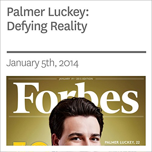 Palmer Luckey: Defying Reality audiobook cover art