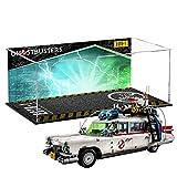 Lommer Estuche de acrílico para LEGO 10274 Creator Expert Ghostbusters ECTO-1 modelo de coche a prueba de polvo, 55 x 25 x 25 cm (modelo Lego no incluido)