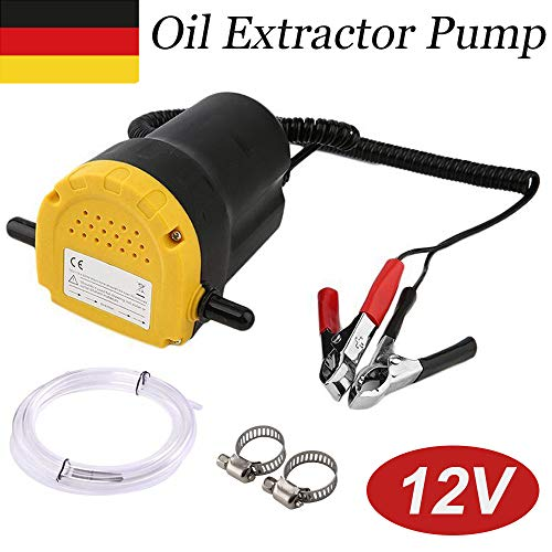 KingSaid 60 W Ölabsaugpumpe Öl Absaugpumpe 12V/5A Dieselpumpe Heizölpumpe Ölpumpe Ölwechsel Fürs Auto