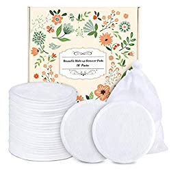 Environmentally friendly reusable makeup wipes.
