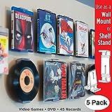 CollectorMount Accesorio de DVD y Videojuego, 45 RPM y