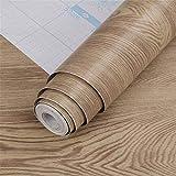 壁紙シール ウォールステッカー おしゃれ 木目調 はがせる壁紙 簡単 模様替え リメイクシート 防水防油 お掃除簡単 45cm*10m