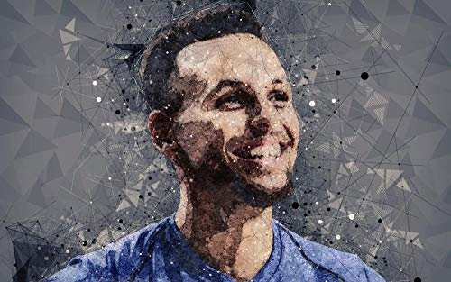 XIAYUU Stephen Curry NBA DIY 5D Diamond Painting Kit Completo Drill, Pittura Diamante 5D Fai da Te,Ricamo a Punto Croce con Strass Craft Arts for Home Wall Decor(40 x 60 cm)