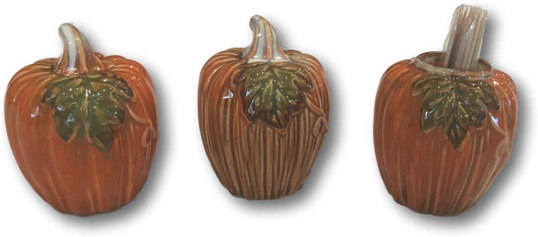 White Pumpkins Salt And Pepper Shaker Set Harvest Thanksgiving Autumn