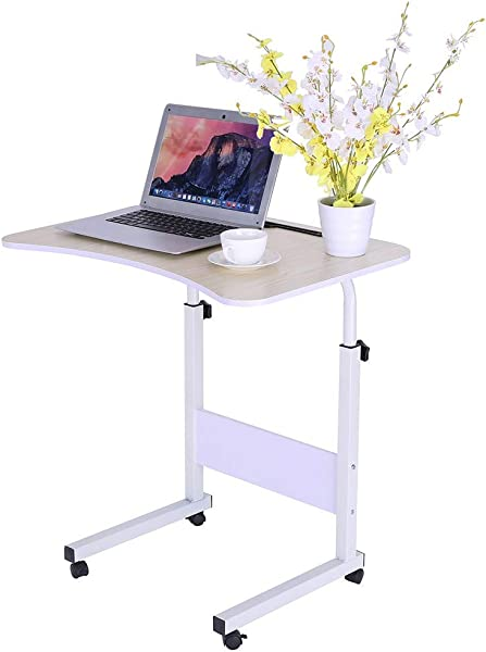 Notebook Desk Nightstand Bed Side Table Simple Laptop Desk Bed With Desktop Home Removable Lazy Lift Bedside Table Desk Writing Computer Desk Modern Simple Study Desk