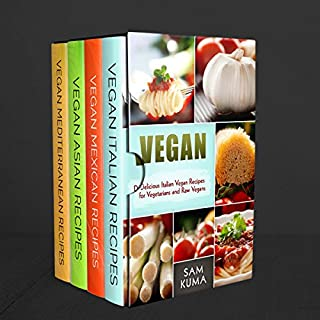 Ethnic Vegan Box Set 4 in 1 audiobook cover art