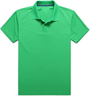 Men's Basic Regular-Fit Quick-Dry Golf Polo Shirt