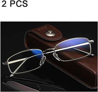 04f8f8d141 Admier Gafas de Lectura 1.00D a 3.00D Lentes de presbicia de Bloqueo de luz