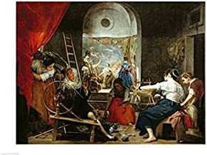Posterazzi BALXIR91618LARGE The Spinners Poster Print by Diego Velazquez 36 x 24