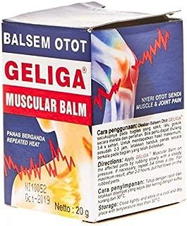 Geliga Muscular Balm Ointment Balsem Otot 20 Gram by Geliga