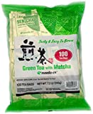 Authentic Maeda-en Japanese Sencha Green Tea - 100 Foil-Wrapped Tea Bags