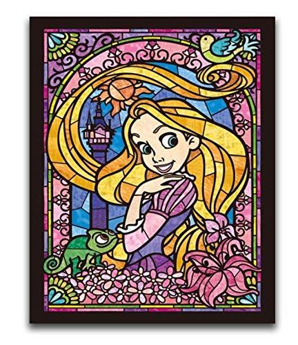 H/F Personaggio dei Cartoni Animati Fai da Te Pittura Digitale Bambini Calligrafia Pittura Wall Art Decorazione Fan Regalo Frameless (15,7X 19,6 Pollici) G8529
