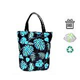 BabyBall/Einkaufstasche:handgearbeitete und umweltfreundliche/große (45x40cm) Baumwoll-Tragetasche/Shopper mit bequemen Langen (50cm) Henkeln/widerstandsfähig und reißfest/ideale Shoppingtasche