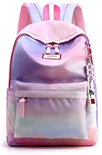 Backpacks Girls School Bags Pupils Cute Fashion Lightweight Backpack Child Princess Waterproof Backpack