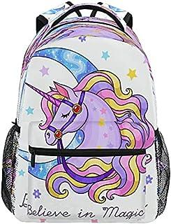 حقائب ظهر مدرسية لطيفة بتصميم اللاما كرتوني آيس كريم طالب حقيبة ظهر كبيرة للبنات والأطفال مدرسة الابتدائية حقيبة للكتب
