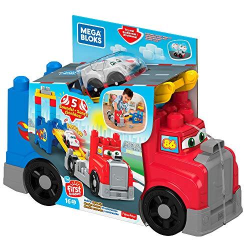 Mega Bloks Camión de carreras y construcción