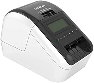 Brother Wireless (WiFi & BT) /NETWORKABLE HIGH Speed Label Printer/UP to 62MM with Black/RED Printing (DK-22251 Required)