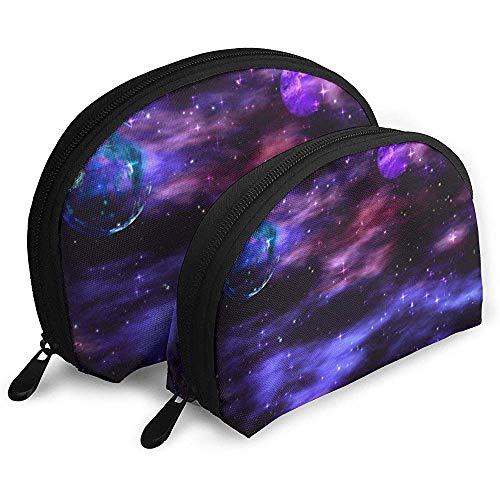 pequeño y compacto Space Planet Explosion Galaxy Bolsa portátil Bolsa de cosméticos Bolsa de aseo Bolsa de viaje …