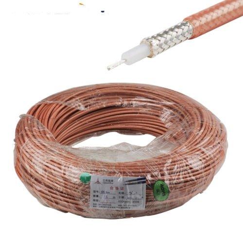 RG400 Silver BNC MALE ANGLE to TNC MALE Coax RF Cable USA Lot