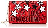 Love Moschino Jc4092pp1a, Borsa a Mano Donna, Rosso (Rosso), 6x14x23 cm (W x H x L)