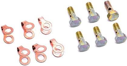 Best 12 valve cummins injector return line bolts Reviews